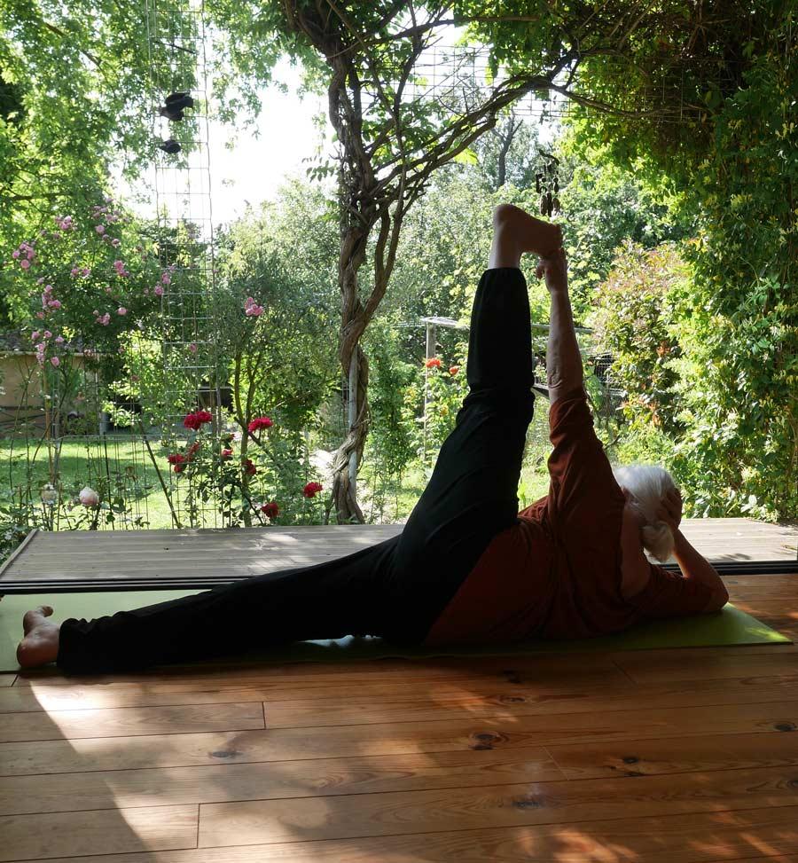 Marie Polderman : professeur de yoga à Toulouse et fondatrice du centre yoga Tolosa
